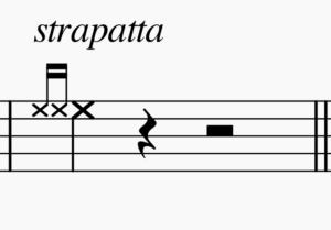 ストラパータの記譜